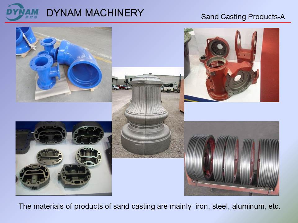Sand casting products-A