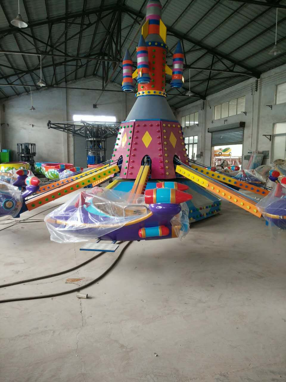 Some pictures from our clients in Amusement industry