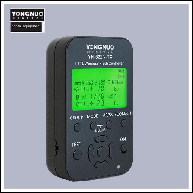 Yongnuo YN-622N-TX LCD Screen iTTL Wireless Flash Controller Screen for YN-622N Trigger