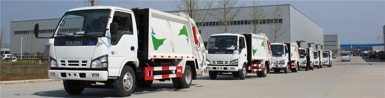 7units 4CBM ISUZU compactor truck to SAudi Arabic
