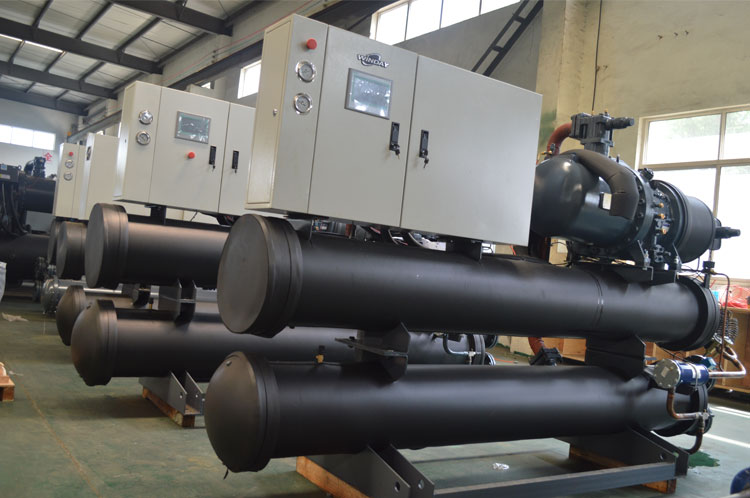 NO.1 Water Screw Cooled Chiller Producting Line
