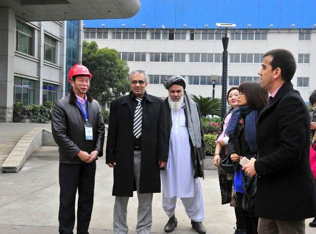 Afghanistan Visiting Group to Dongfang