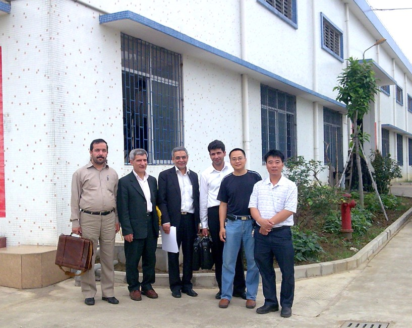 Iran Clinets Visit our Facoty