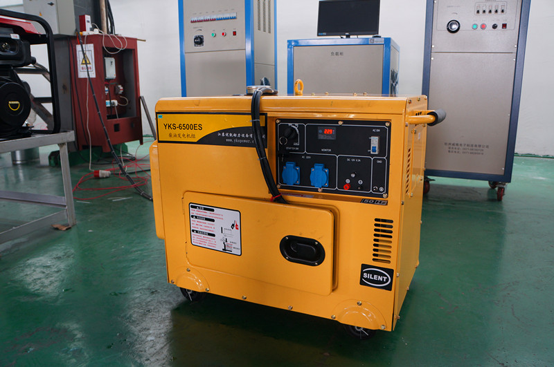 Debugging for YKS-6500ES Diesel Generator Set