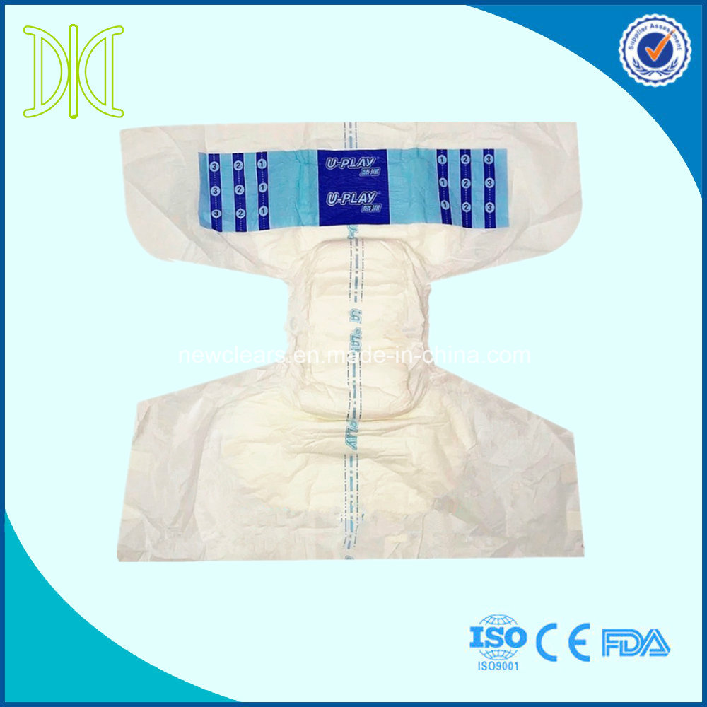 adult diaper with PP tape for old men