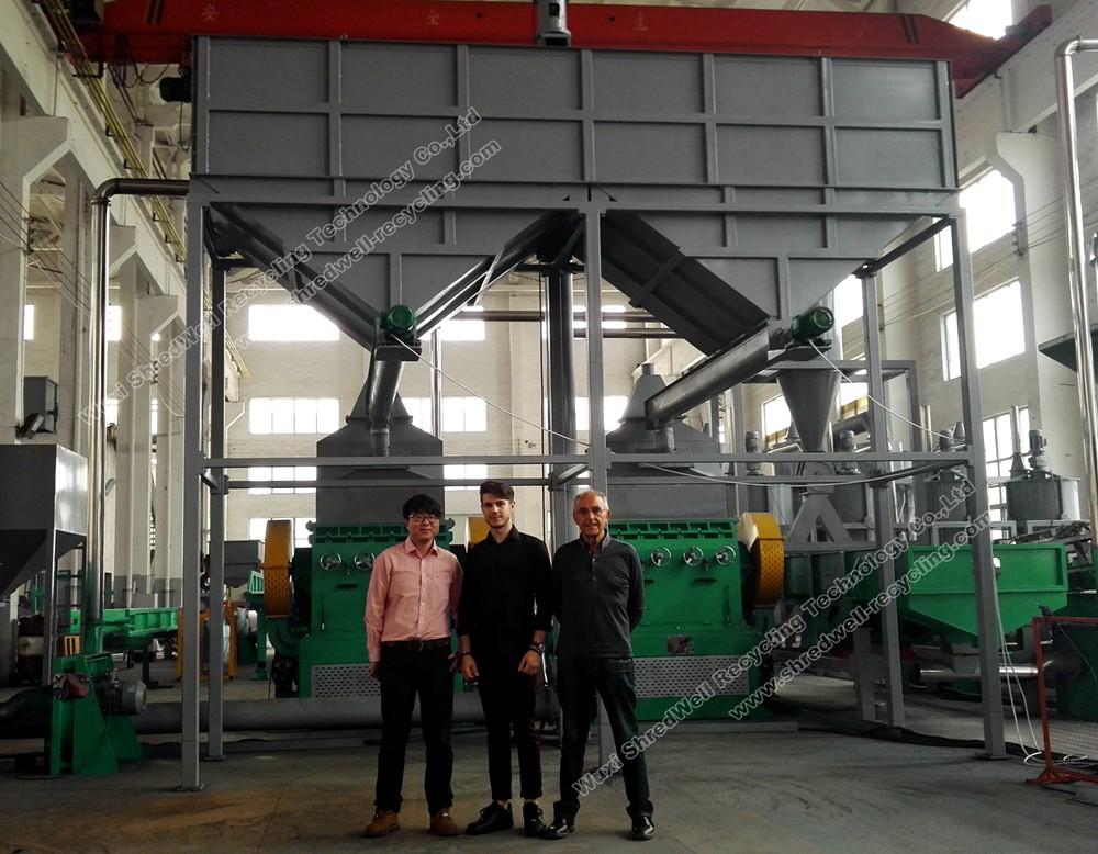 Italian Customer-TSC3000 Tire Recycling Plant