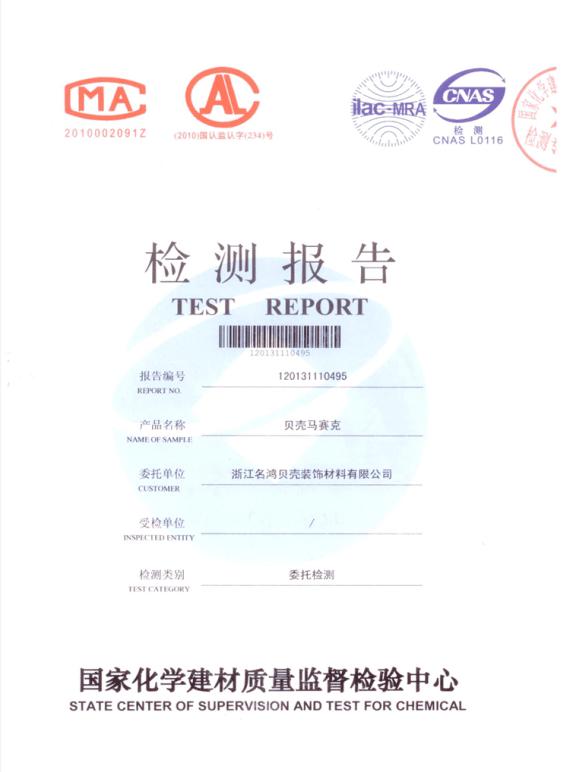 Examining Report