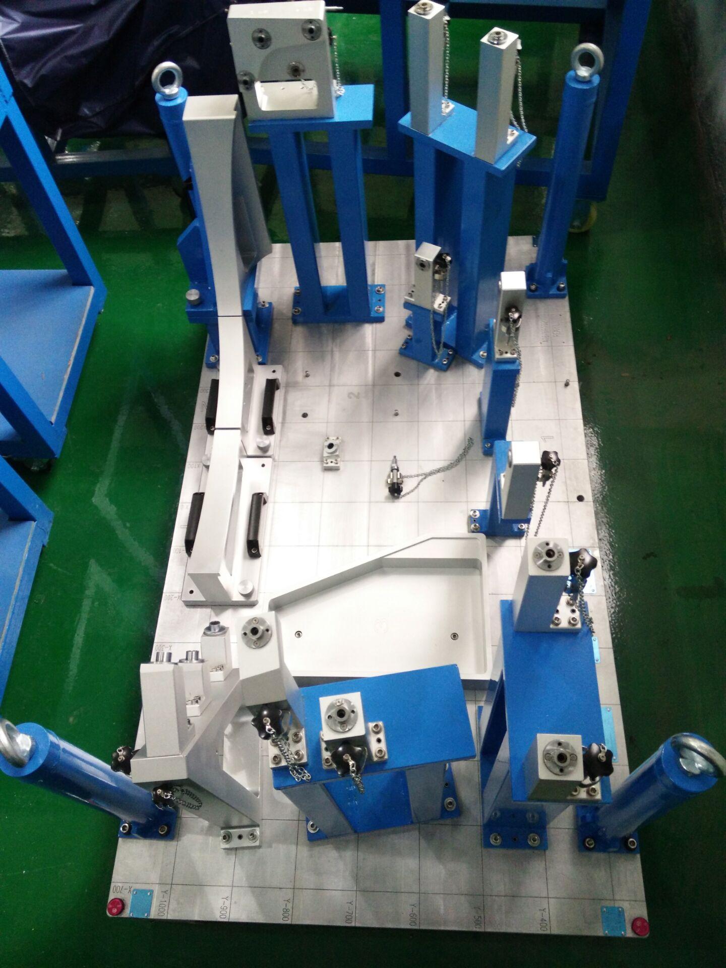 The Large CMM Holding Fixture of BR167 WHL Serial CMM gauge