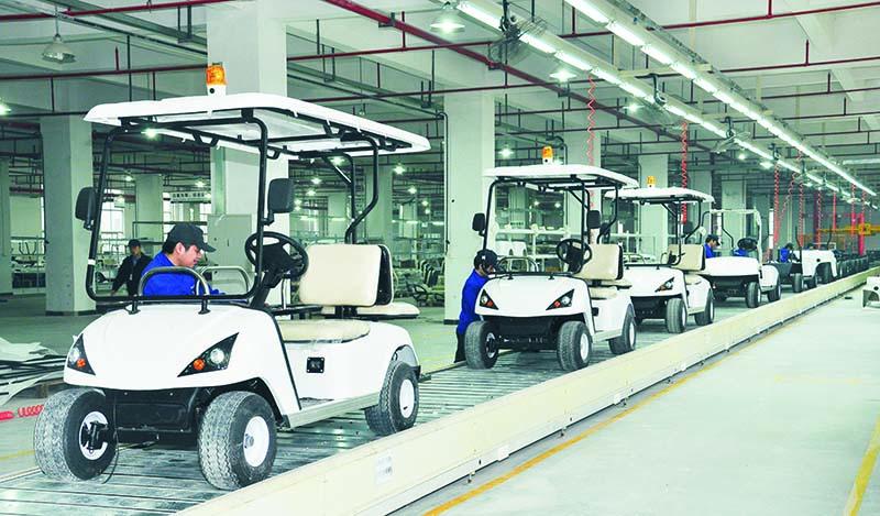 Golf Cart Production Line
