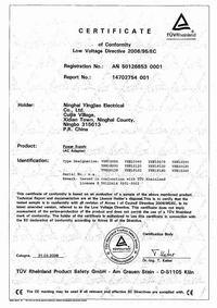 TUV-CE certificate