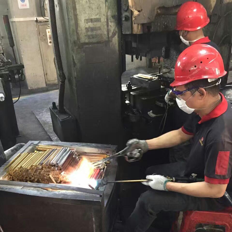 Brass Forging Process
