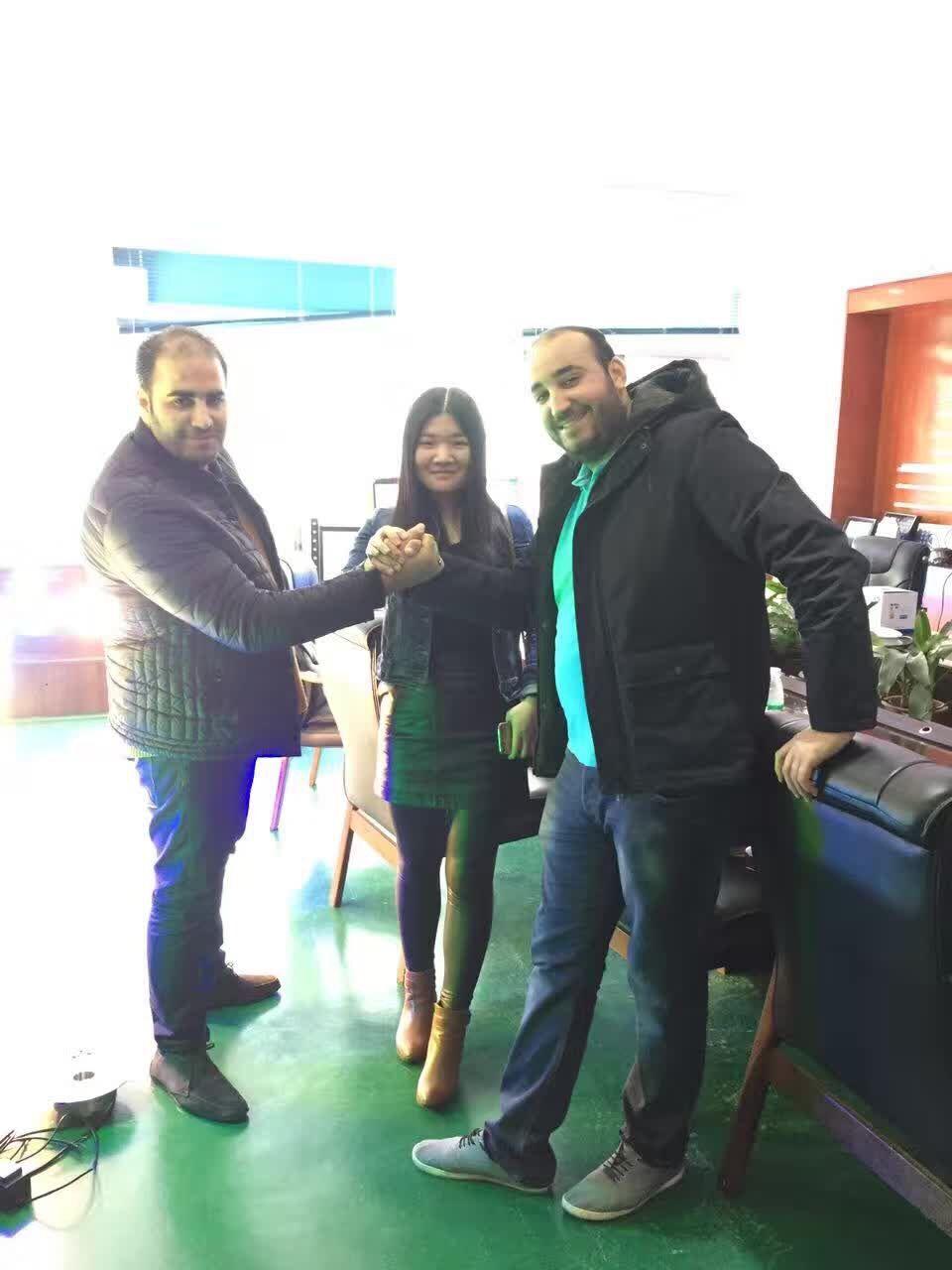 Tunisia customers visiting