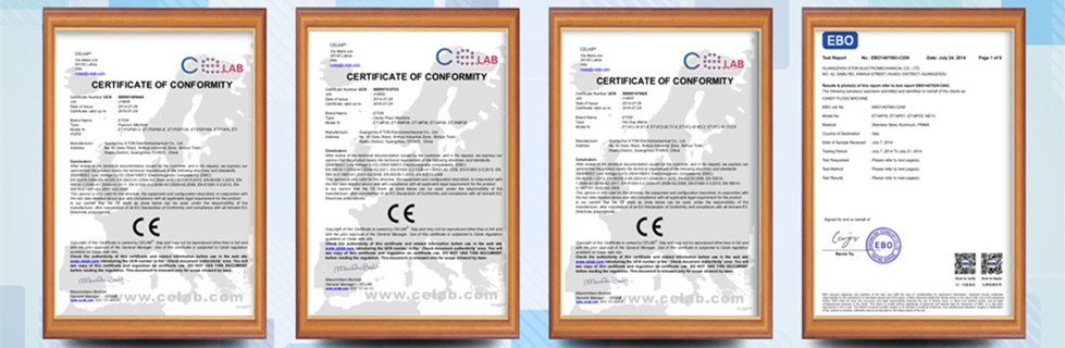 Our CE Certification