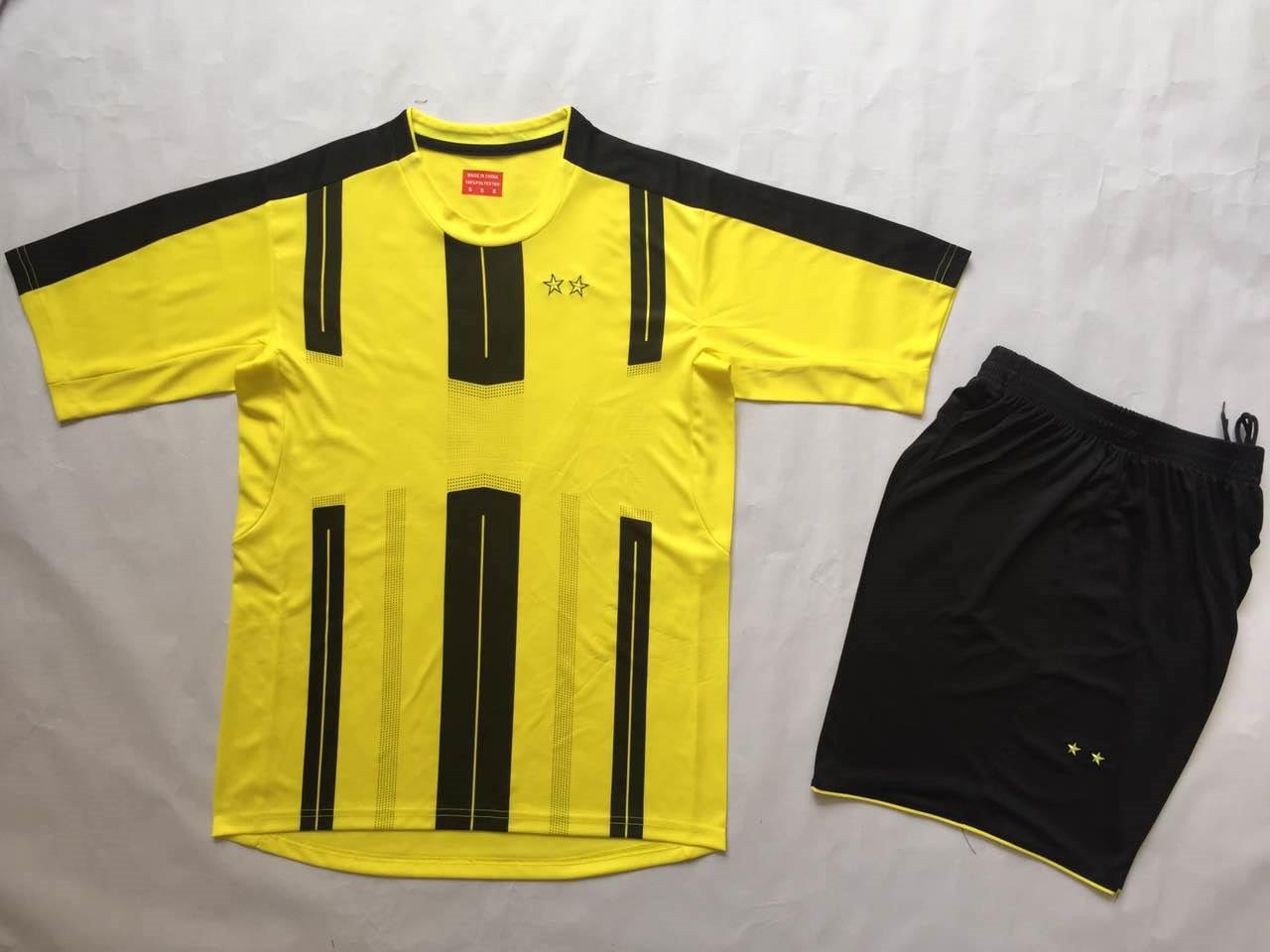 Borussia home yellow jerseys