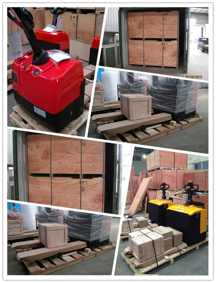 electric pallet truck shipment