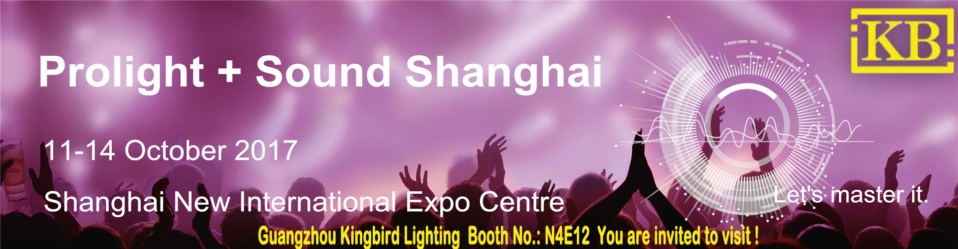 Prolight+sound Expo Shanghai 2017