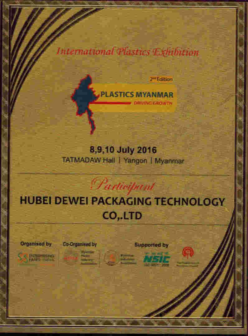 Hubei dewei exhibition in Myanmar