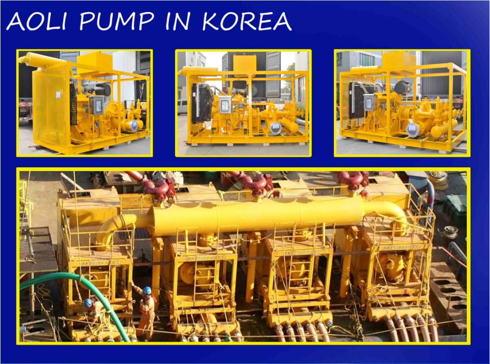 Horizontal split pump