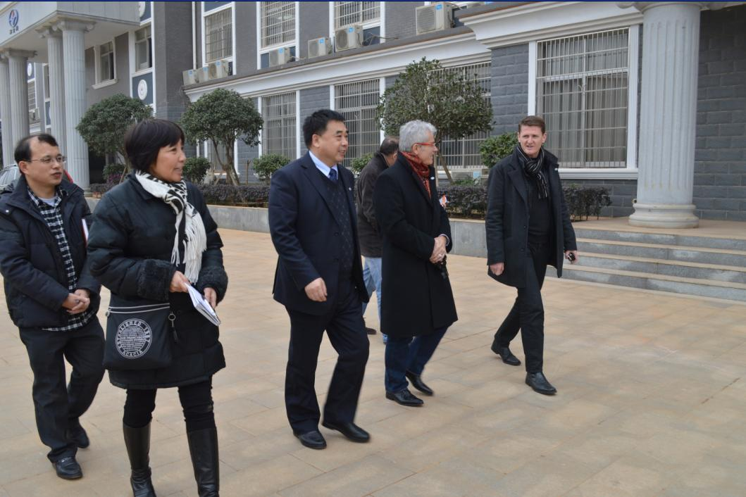 VIP Customers from France visited Heijingang factory