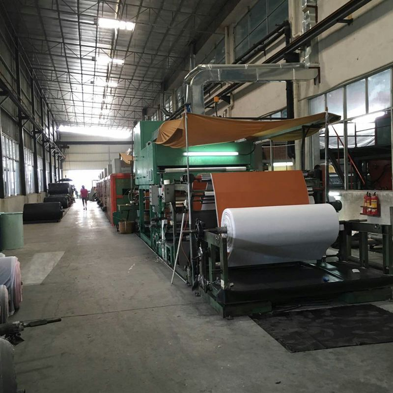 Equipment for pu leather production