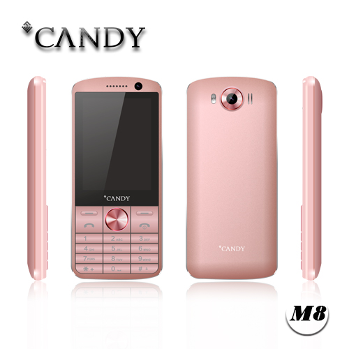 China Supplier OEM 2.8inch Feature Mobile Phone with Whatsapp MP3 MP4 FM