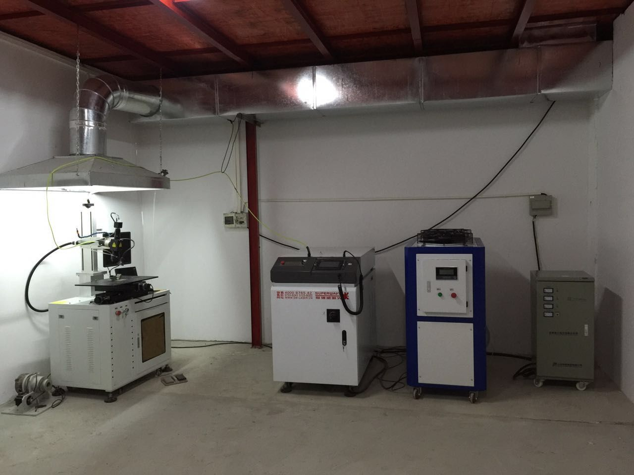 laser cut and laser sculputure machine