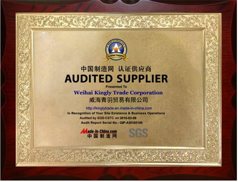 SGS Audit Certification