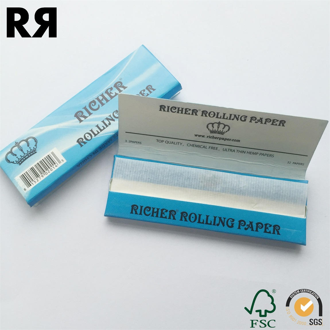 2016 Richer 18GSM Ultra Thin Original Unbleached Rolling Paper