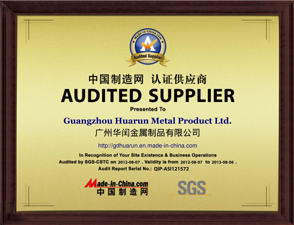 Made in China Certificates