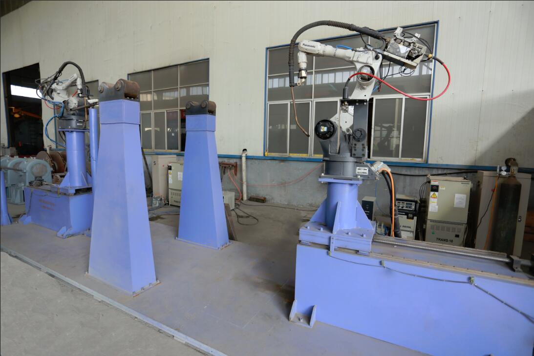 Automatic welding robots
