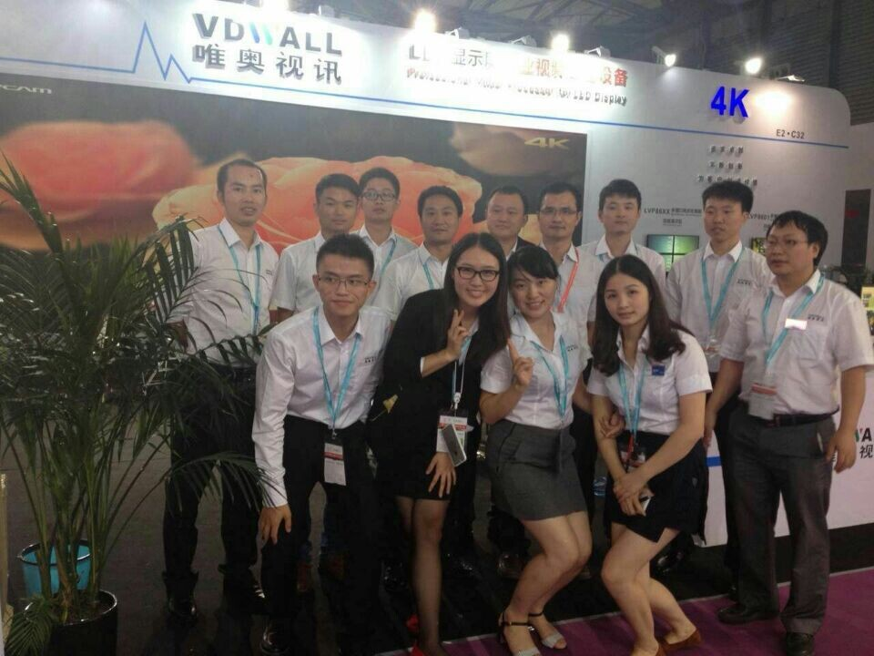 VDWALL successfully held LED China exhibition in Shanghai