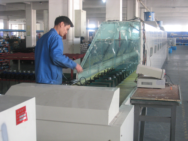 Assembly testing line