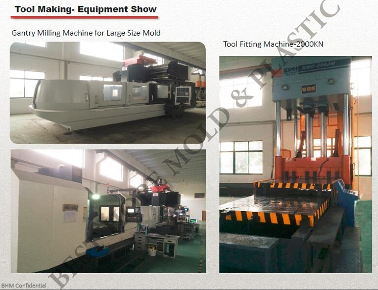 Big Mold Tooling/Gantry Milling Machine/Mold Fitting Machine