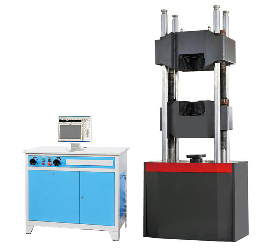 universal testing machine (computer display)