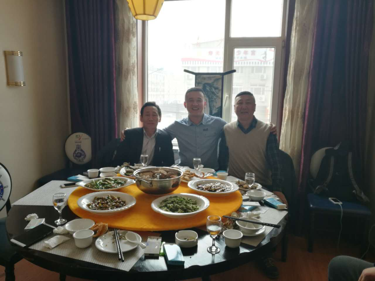 Mongolian customers visit and sign up