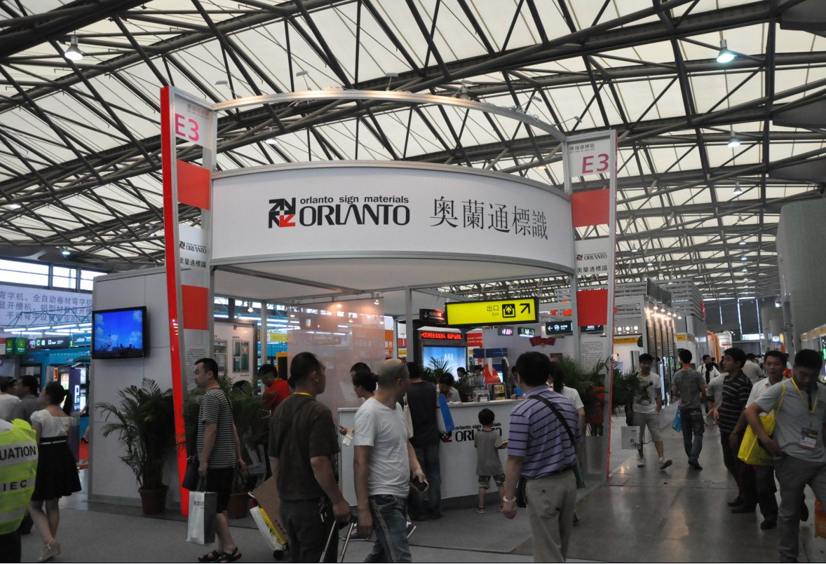 2012 --Orlanto Signs Show in Foreign Countries