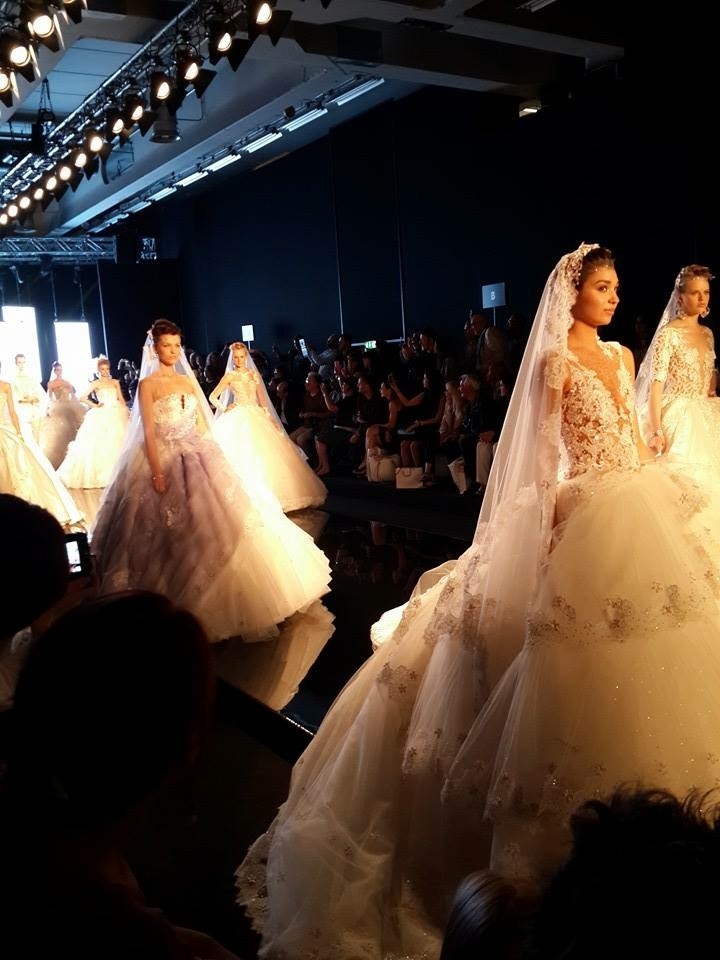 new wedding dress show