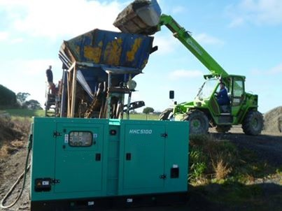 Huihe Genset Applied at the Quarry of New Zealand