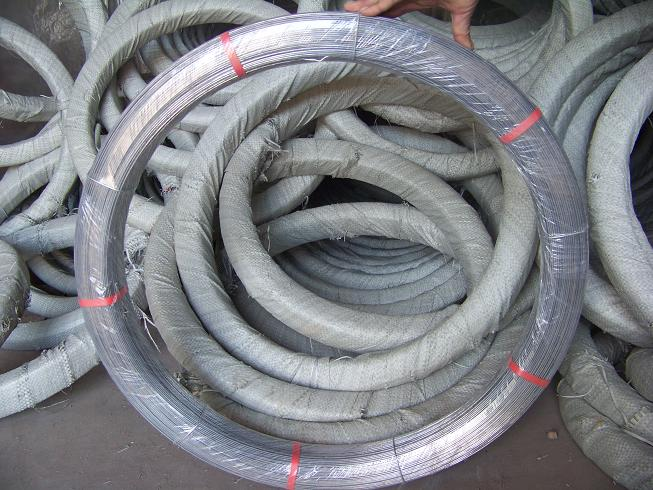 high tensile hot-dipped galvanized oval wire/genuine factory