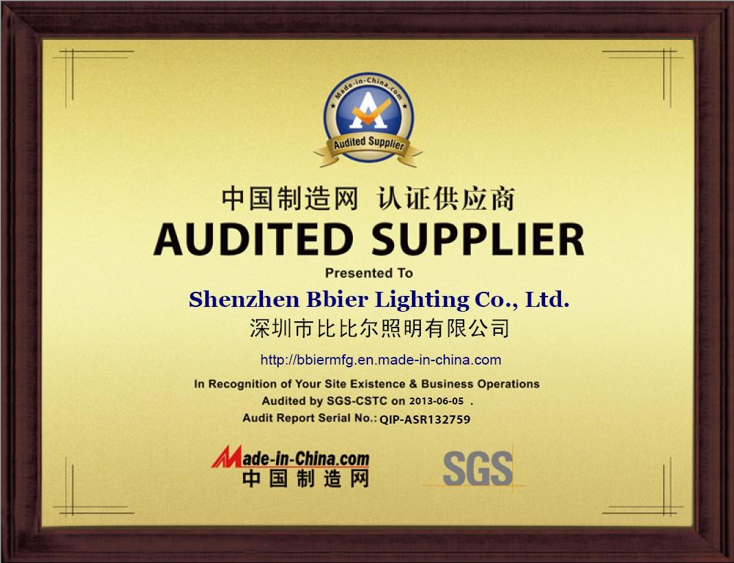 Bbier SGS Certification