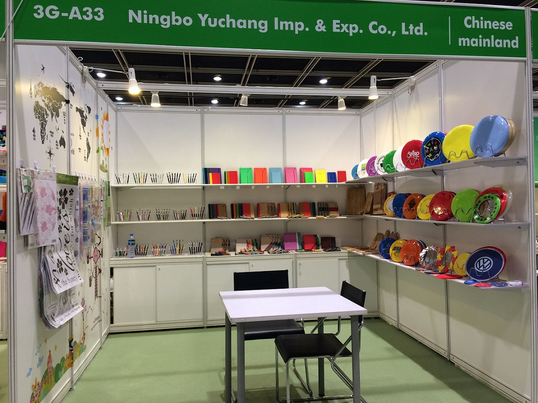 2016.4-Hongkong Fair-Booth No. 3G-A33