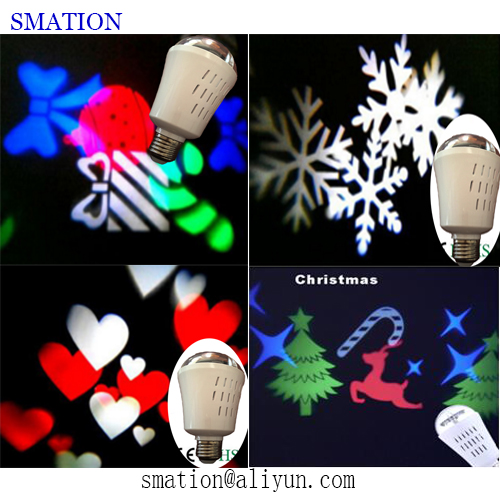 home christmas festival projection light