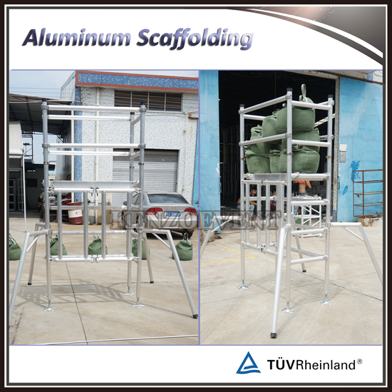 Load Test of Aluminum Folding Scaffolding