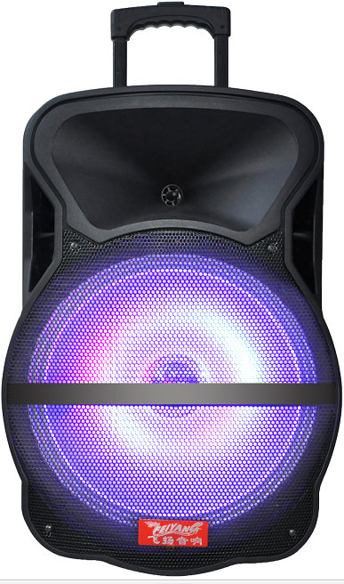 Powerful Portable Bluetooth Speaker/Subwoofer with Trolly Lihght--Cx-18d