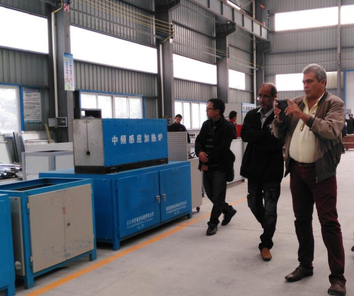 2015.11 Brazil Client Visiting for 3 Ton Induction Furnace