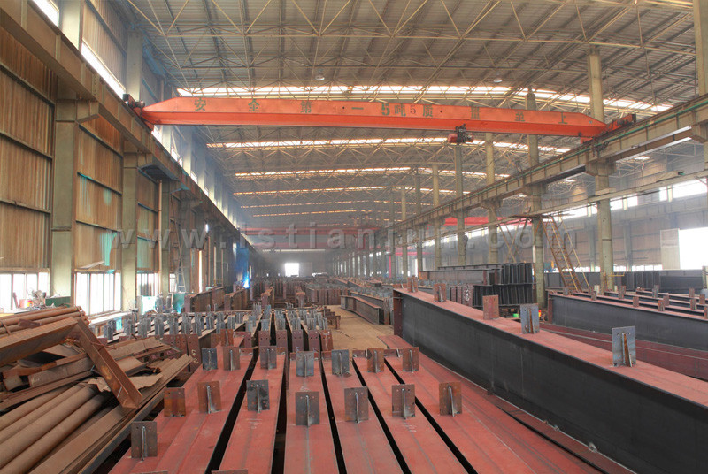 workshop No.2-main steel structure production