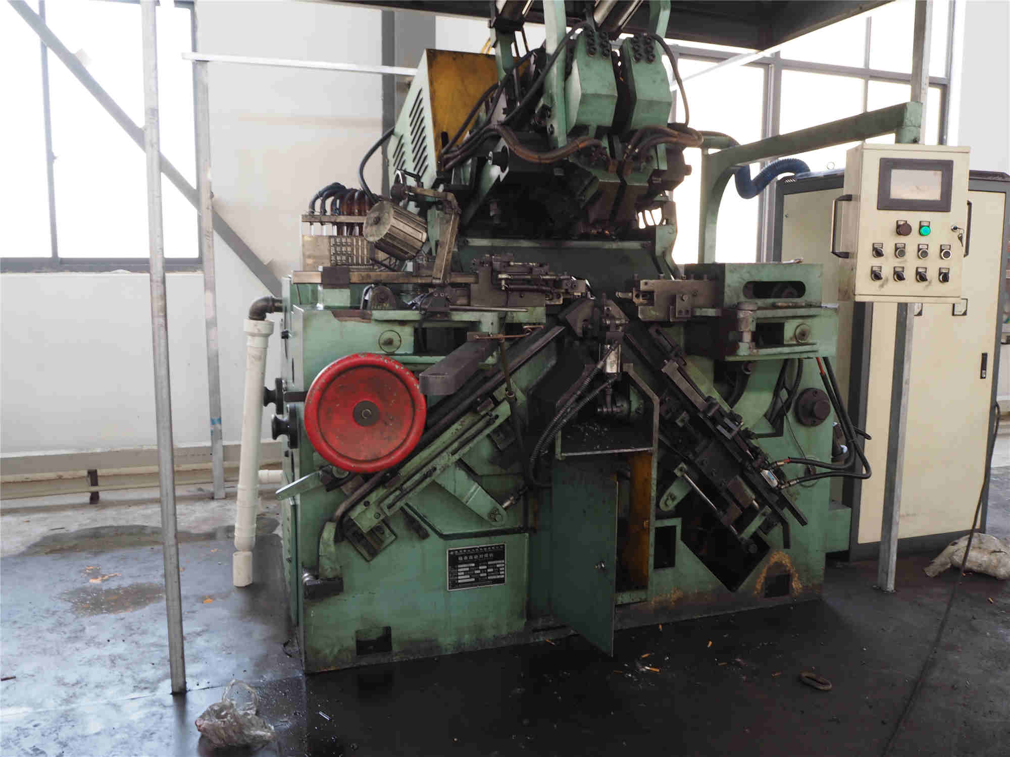 Chain automatic butt-welding machine