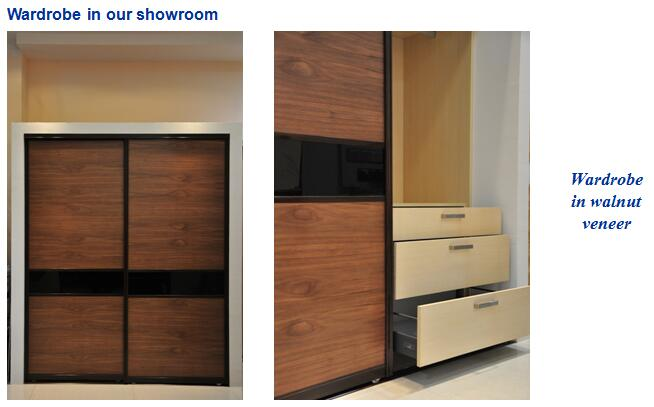 wardrobe in our showroom-2