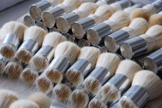 Semi finished brushes