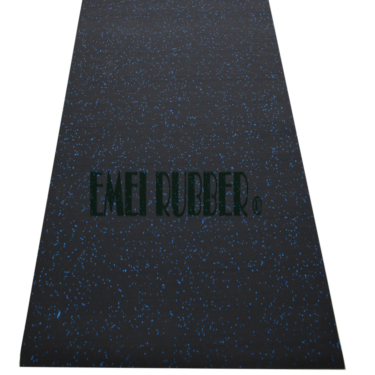 Large exercise rubber mat